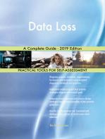 Data Loss A Complete Guide - 2019 Edition