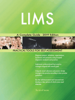 LIMS A Complete Guide - 2019 Edition