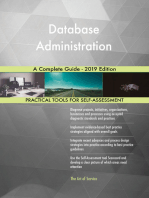 Database Administration A Complete Guide - 2019 Edition