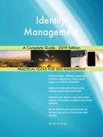 Identity Management A Complete Guide - 2019 Edition