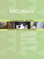 RACI Matrix A Complete Guide - 2019 Edition