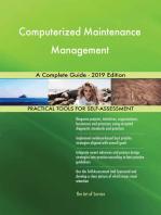 Computerized Maintenance Management A Complete Guide - 2019 Edition
