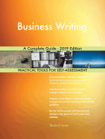 Business Writing A Complete Guide - 2019 Edition