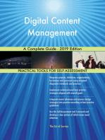 Digital Content Management A Complete Guide - 2019 Edition