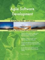 Agile Software Development A Complete Guide - 2019 Edition