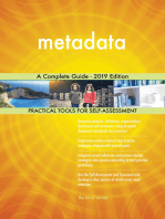 metadata A Complete Guide - 2019 Edition
