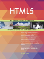 HTML5 A Complete Guide - 2019 Edition