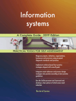 Information systems A Complete Guide - 2019 Edition