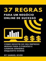 37 Regras para um Negócio Online de Sucesso
