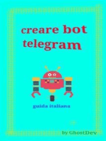 Creare bot telegram - guida italiana