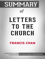 Summary of Letters to the Church by Francis Chan | Conversation Starters