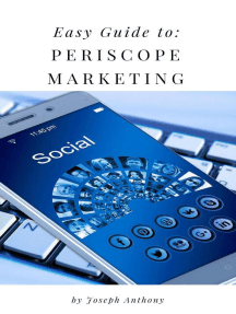 Easy Guide to: Periscope Marketing