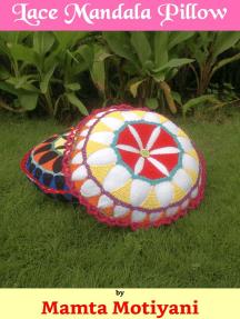 Lace Mandala Pillow Crochet Pattern