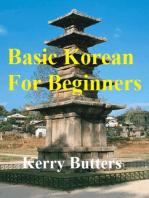 Basic Korean For Beginners.