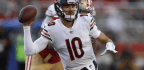Trubisky's Mind Is On Building Momentum Against Vikings, Not The Hit That Took 2 Games From His Season