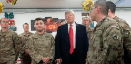 Trump Pays A Visit To Troops In Iraq