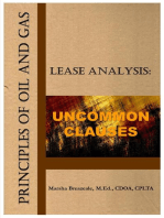 Principles of Oil and Gas Lease Analysis