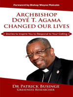 Archbishop Doye T Agama Changed Our Lives