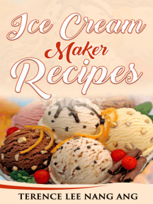 Ice Cream Maker Recipes