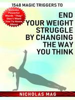 1548 Magic Triggers to End Your Weight Struggle by Changing the Way You Think