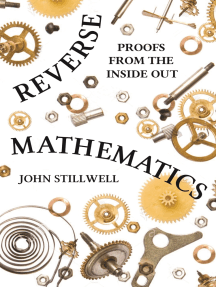 Reverse Mathematics: Proofs from the Inside Out