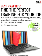 [BEST PRACTICE] Find the Perfect Training