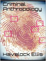 Criminal Anthropology