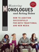Mastering Monologues and Acting Sides