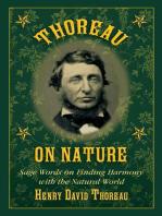 Thoreau on Nature