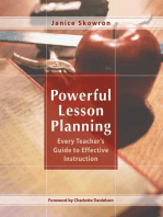 Powerful Lesson Planning