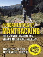 Fundamentals of Mantracking: The Step-by-Step Method: An Essential Primer for Search and Rescue Trackers