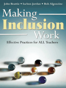 Making Inclusion Work: Effective Practices for All Teachers