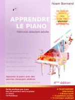 Apprendre le Piano Méthode Débutant Adulte (couleur)