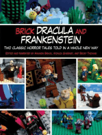 Brick Dracula and Frankenstein