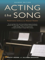 Acting the Song
