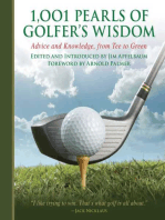 1,001 Pearls of Golfers' Wisdom