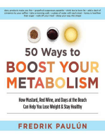 50 Ways to Boost Your Metabolism
