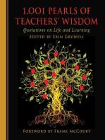1,001 Pearls of Teachers' Wisdom