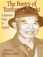 Poetry of Yorifumi Yaguchi