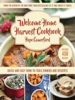 Welcome Home Harvest Cookbook