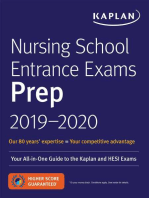 Nursing School Entrance Exams Prep 2019-2020: Your All-in-One Guide to the Kaplan and HESI Exams