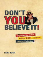 Don't You Believe It!