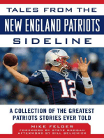 Tales from the New England Patriots Sideline
