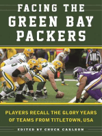 Facing the Green Bay Packers