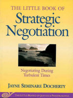 Little Book of Strategic Negotiation