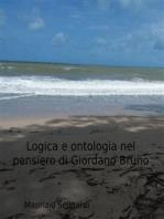 Logica e ontologia nel pensiero di Giordano Bruno
