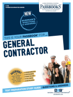 General Contractor: Passbooks Study Guide