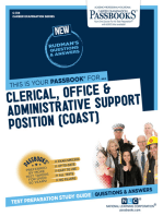 Clerical & Administrative Support Positions