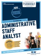 Administrative Staff Analyst