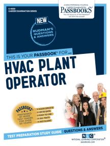 HVAC Plant Operator: Passbooks Study Guide
